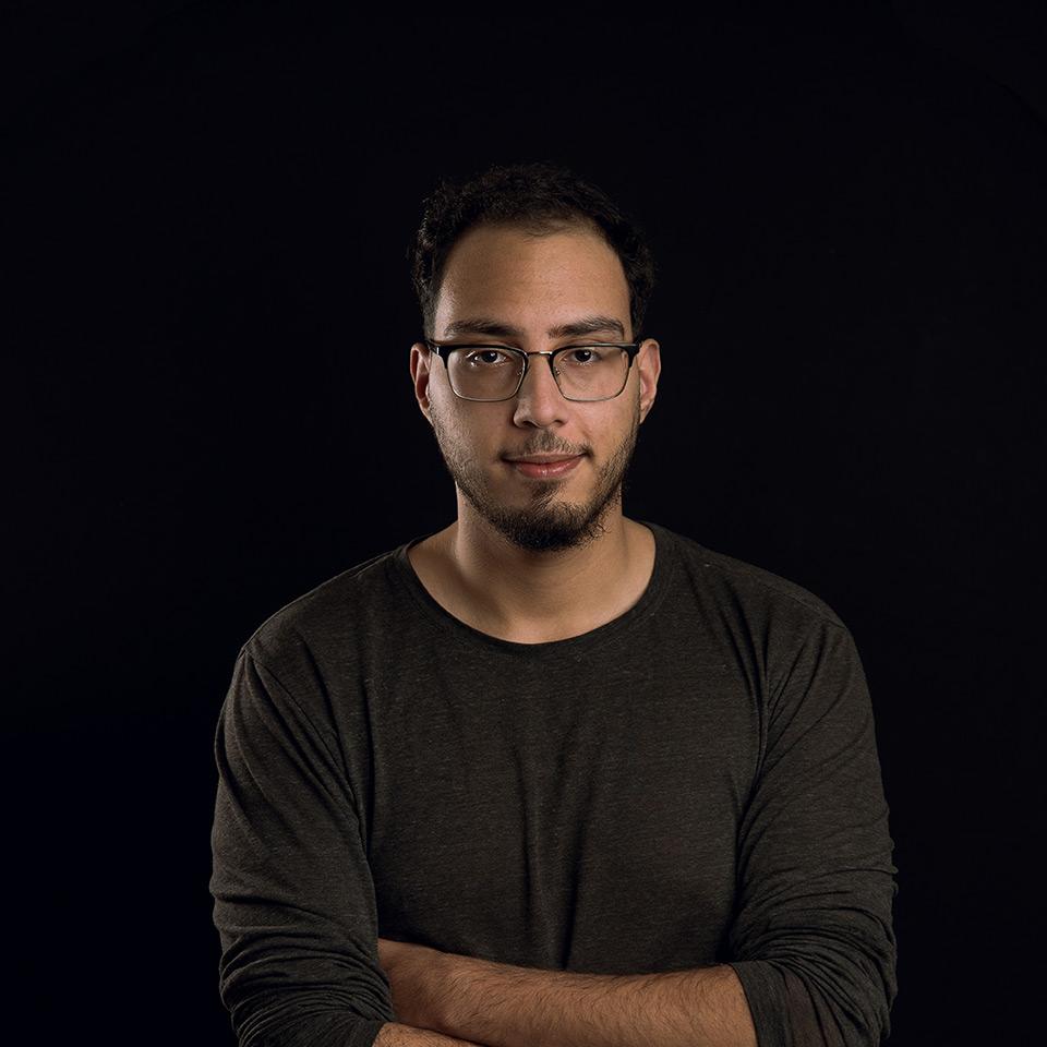 Moussa Chabaar bij Antenna